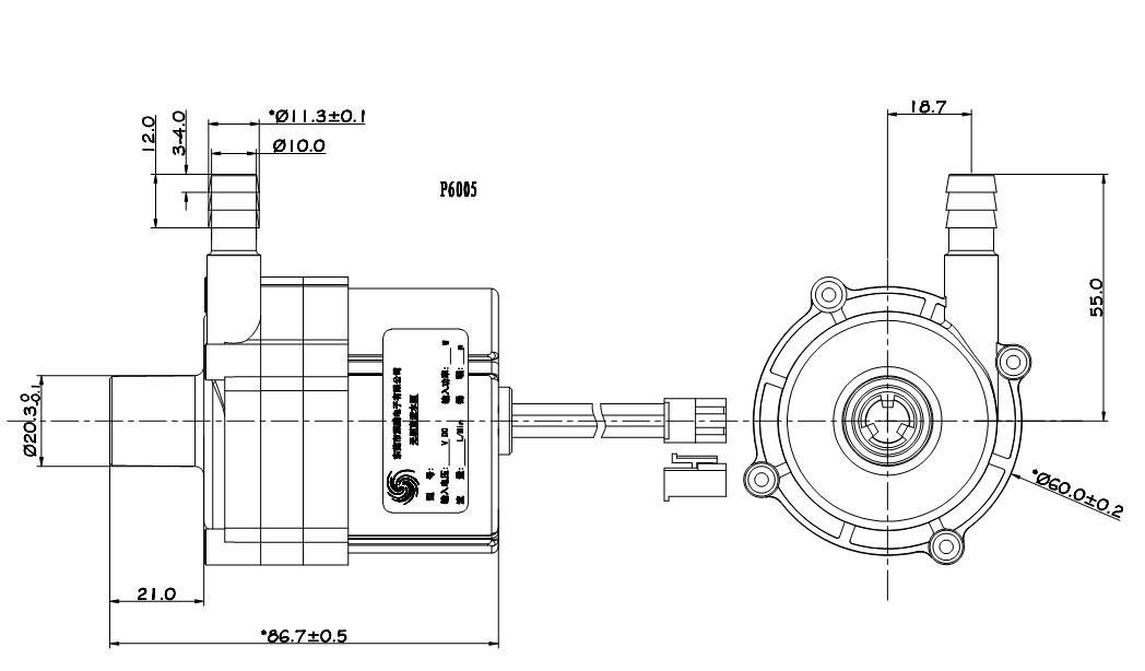 冷水机增压泵,水床静音水泵,小型直流灌溉水泵-深鹏电子